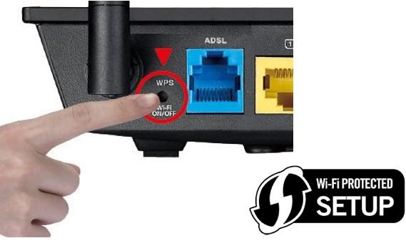 WPS, ese raro y pequeño botón...