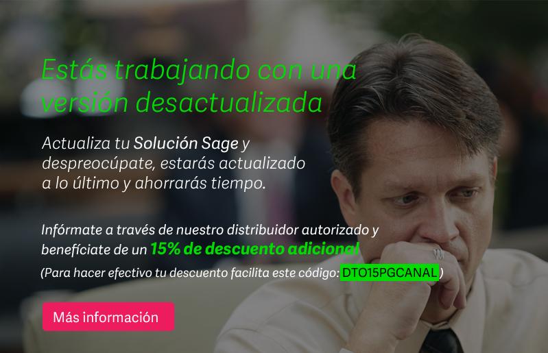 Actualización SAGE